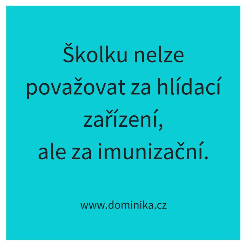 Článek Školka